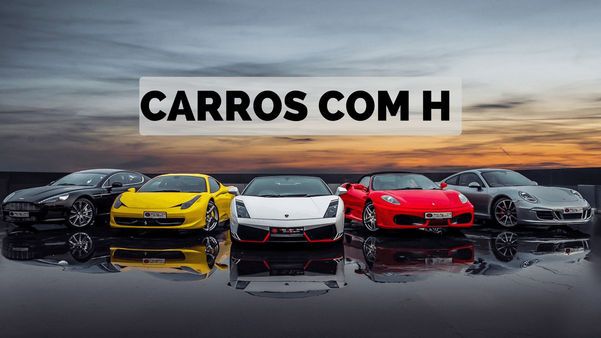 You are currently viewing ▷ Carros Com H 【Lista Completa】